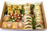 A selection of homemade sweet treats available from Lunch Catering Services, Plymouth, Devon. UK