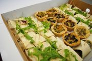 Our catered buffet lunches are all delivered in stylish biodegradable boxes in the Plymouth area of Devon. UK